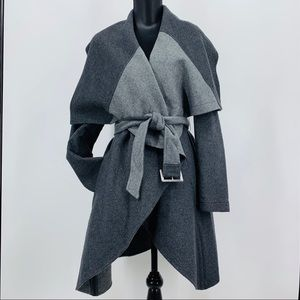 Antonio Melani NWT Grey Shawl Collar Poppy Jacket